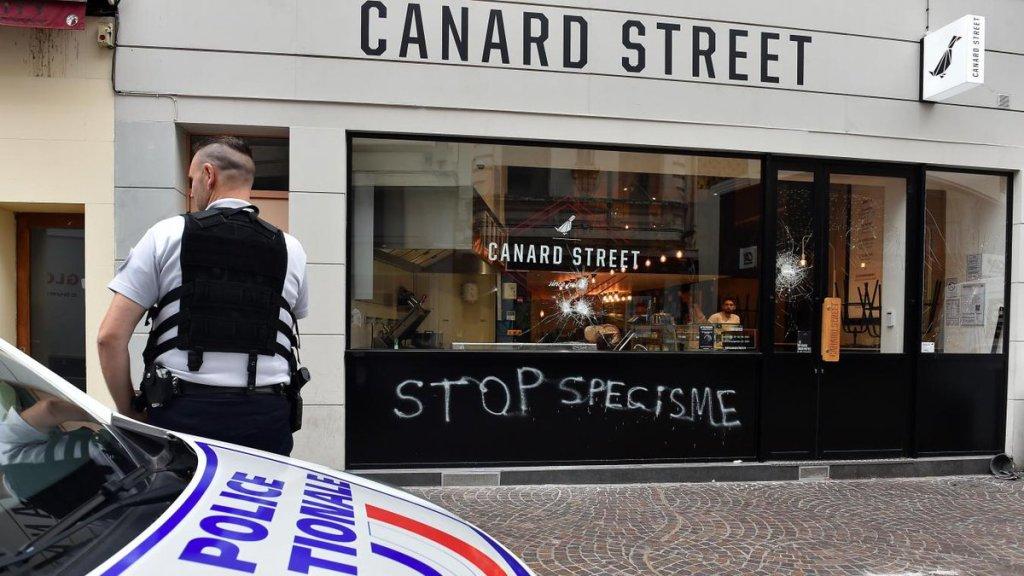ataques veganos francia