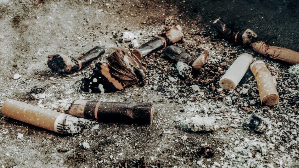 colillas cigarros contaminantes