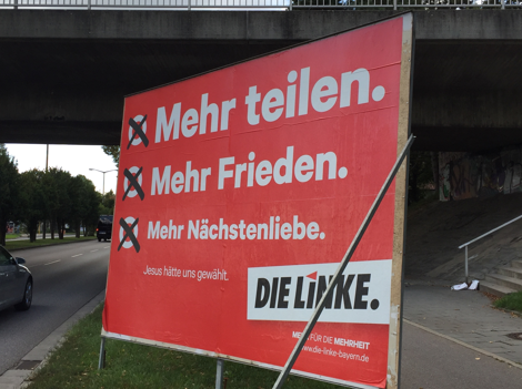 Valla electoral de Die Linke